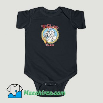 Funny BLEACH GOODS ARMED AND READY BLACK BALMAIN Baby Onesie