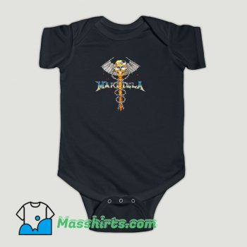 Funny BLEACH GOODS DR METAL BLACK MARGIELA Baby Onesie