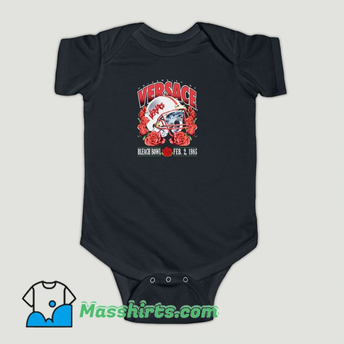 Funny Bleached Goods Rose Froze Baby Onesie