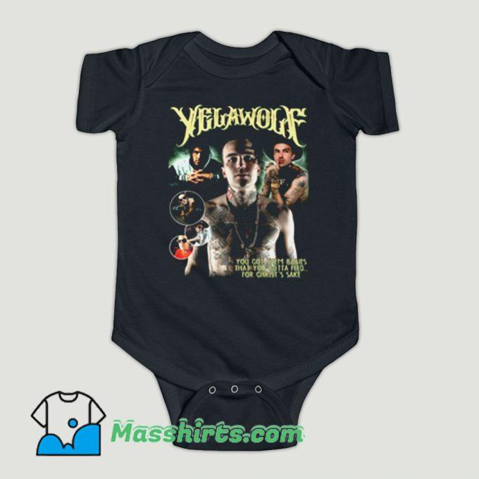 Funny Yelawolf Rapper Hip Hop Baby Onesie
