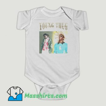 Funny Young Thug Blink Baby Onesie