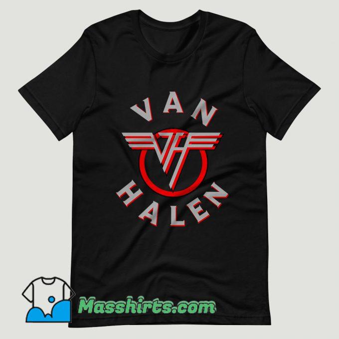 Old Rock Van Halen T Shirt Design