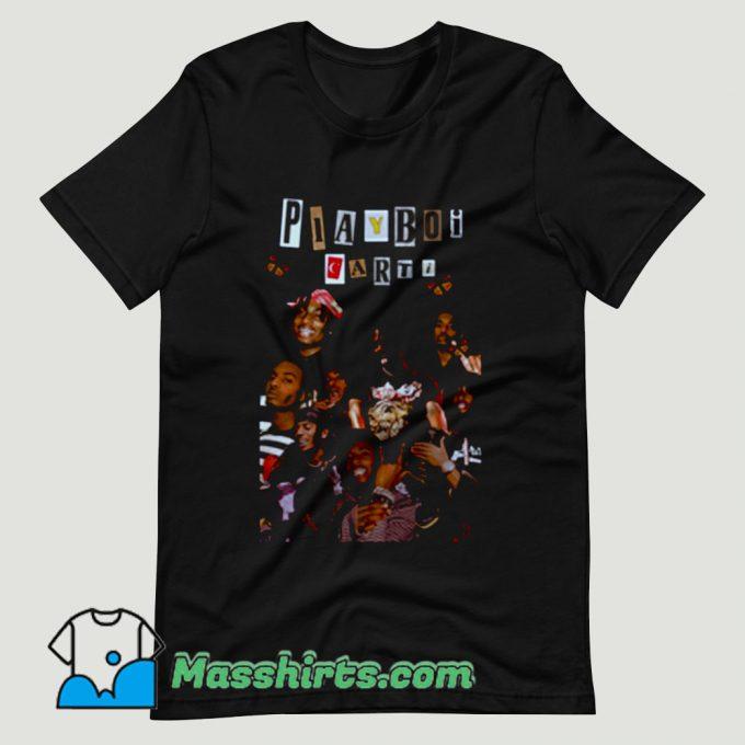 Playboi Carti Tour Concert Hip Hop T Shirt Design