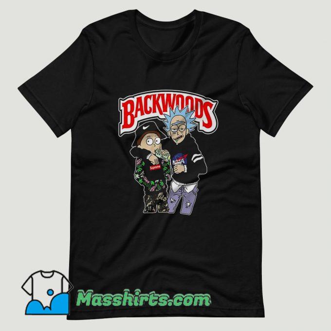 Rick And Morty Backwoods T Shirt Design