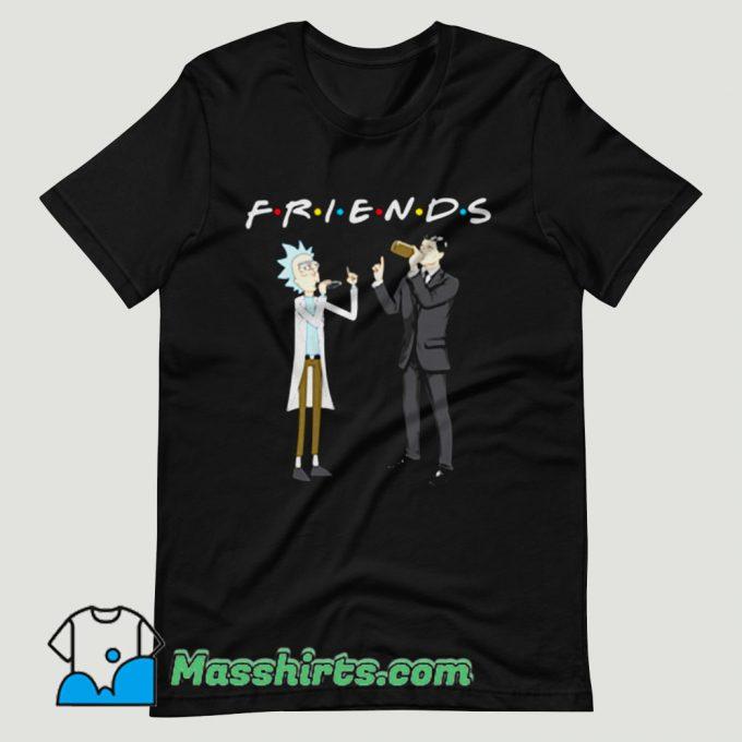 Rick and Archer Drink Wine Friend T Shirt Design