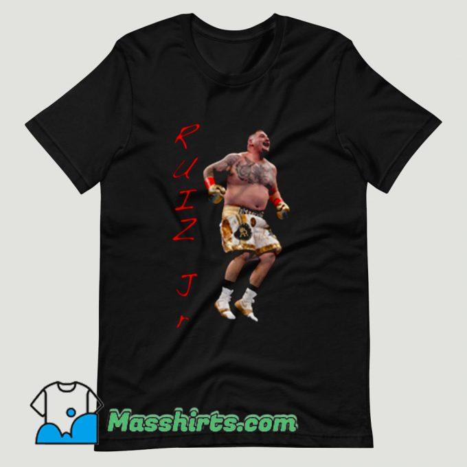 Ruiz Jr Destroyer Celebrate T Shirt Design