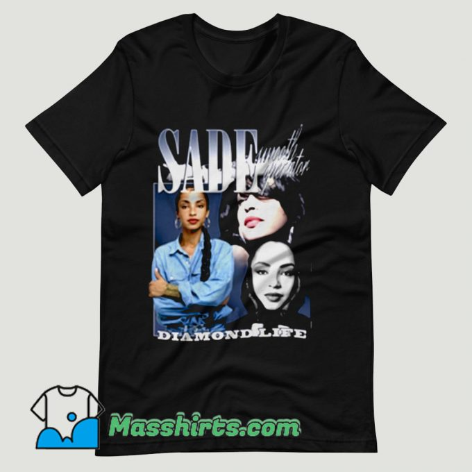 Sade Diamond Life T Shirt Design