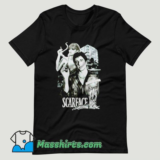 Scarface Tony Montana Gangster T Shirt Design