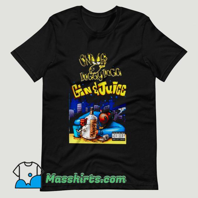 Snoop Dogg Gin And Juice T Shirt Design