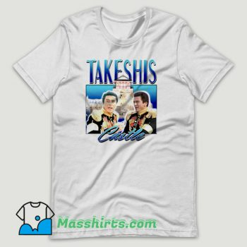 Takeshis Castle T Shirt Design