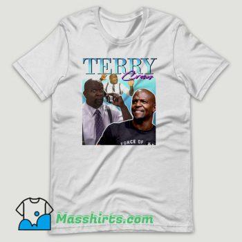 Terry Crews T Shirt Design