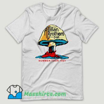 The Allman Brothers Summer Tour 81 T Shirt Design