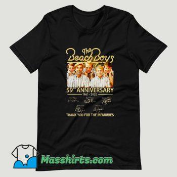 The Beach Boys 59th Anniversary T Shirt Design