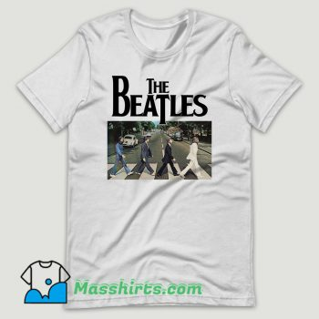 The Beatles Abbey Road T Shirt Design