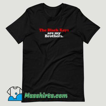 The Black Keys Brothers T Shirt Design