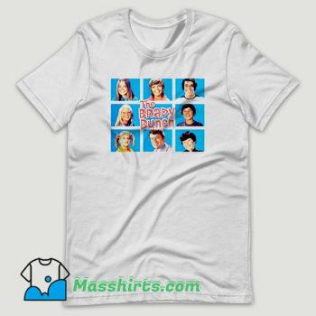 The Brady Bunch Character T Shirt Design