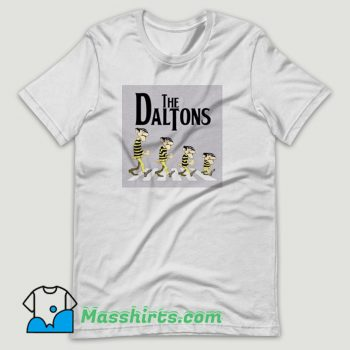 The Daltons Lucky Luke Joe Abbey Road T Shirt Design