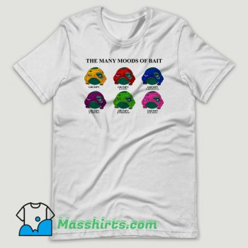 The Dragon Prince Many Moods Of Bait T Shirt Design