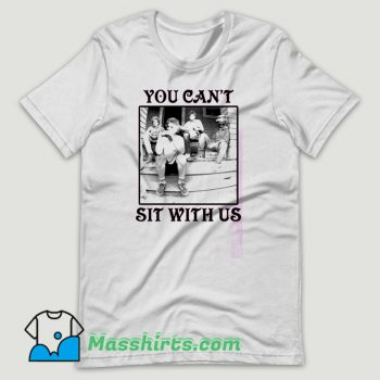 The Golden Girls You Can't Sit With Us T Shirt Design