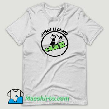 The Jesus Lizard Mouse Rock T Shirt Design