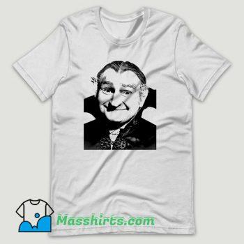 The Munsters Grandpa Munster Dracula T Shirt Design