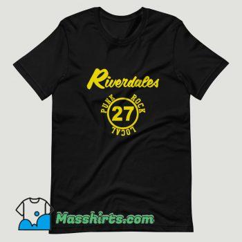 The Riverdales Punk Rock Local 27 T Shirt Design
