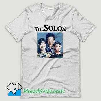 The Solos Star Wars Family Portrait T Shirt Design