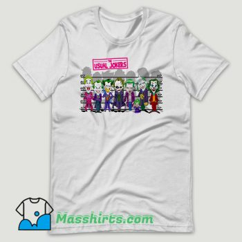 The Usual Jokers T Shirt Design