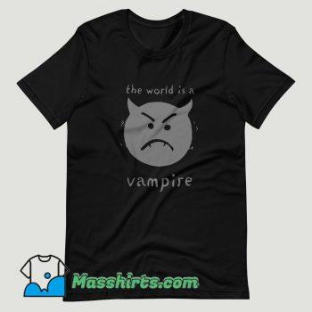 The World Is A Vampire Smashing Pumpkins T Shirt Design