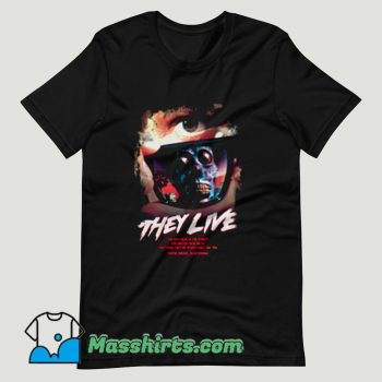 They Live Movie T Shirt Design