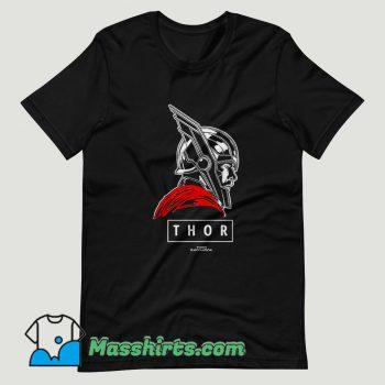 Thor Ragnarok God Graphic T Shirt Design