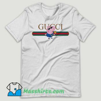 Thug Life Peppa Pig Parody T Shirt Design