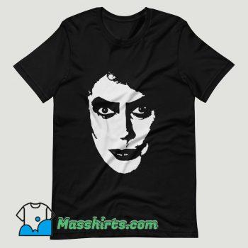 Tim Curry Rocky Horror Movie T Shirt Design