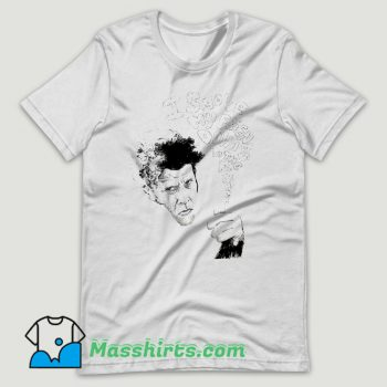 Tom Waits I Smoke My Friends T Shirt Design