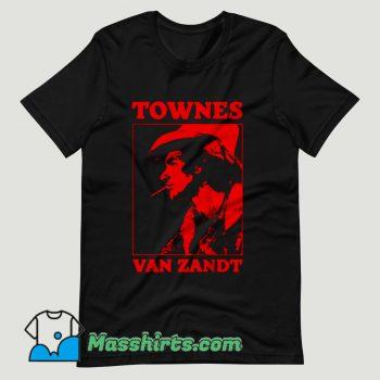 Townes Van Zandt T Shirt Design