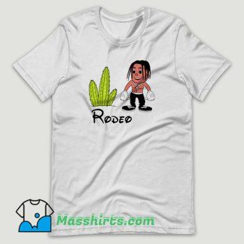 Travis Scott Rodeo Disney Cartoon T Shirt Design