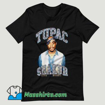 Tupac Shakur Glitter Rap T Shirt Design