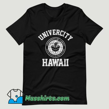 University of Hawaii at Manoa T Shirt Design