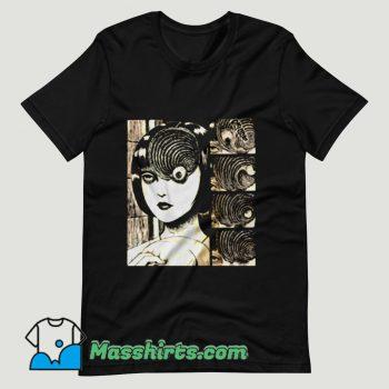 Uzumaki Junji Ito T Shirt Design