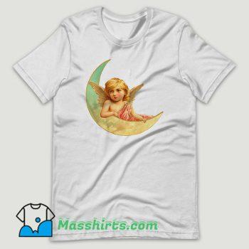 Victorian Angels Paint Art T Shirt Design