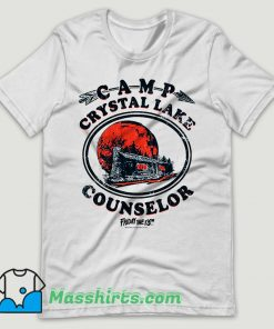 Vintage Camp Crystal Lake Counselor T Shirt Design