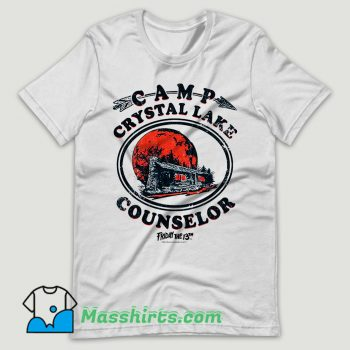 Vintage Camp Crystal Lake Counselor T Shirt Design