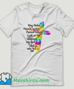 Way Maker Miracle Worker T Shirt Design
