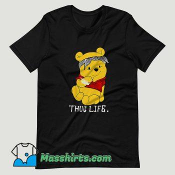 Winnie The Pooh Thug Life T Shirt Design