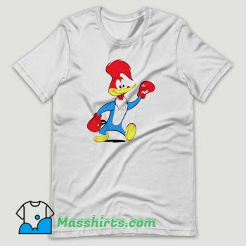 Woody Woodpecker Boxing T Shirt Design