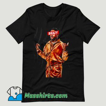 YG Brazy Rapper T Shirt Design