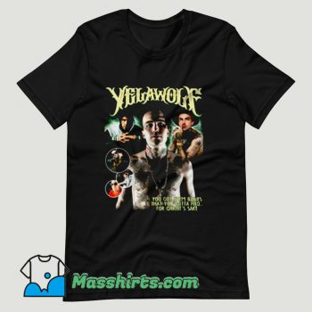 Yelawolf Rapper Hip Hop T Shirt Design