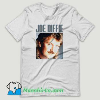 Young Joe Diffie Singer T Shirt Design