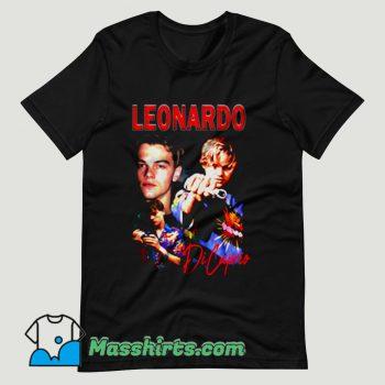 Young Leonardo Di Caprio T Shirt Design