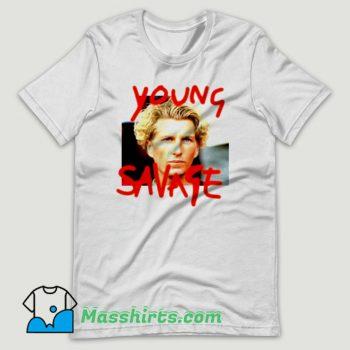 Young Savage T Shirt Design